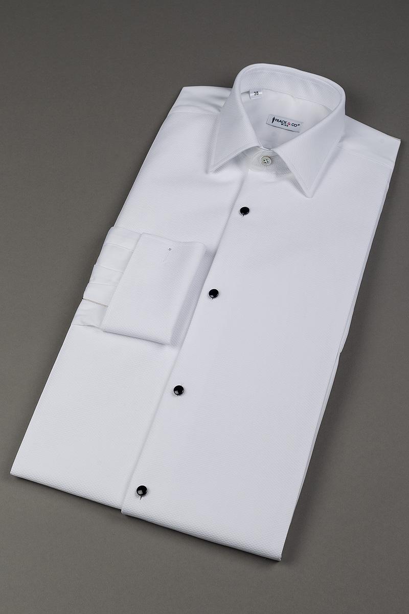 Tuxedo shirt pique frack for Tuxedo shirt without studs